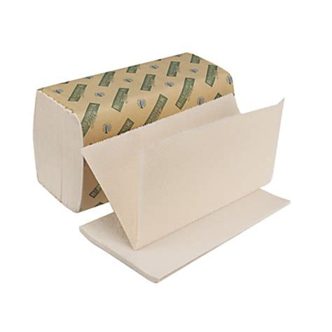 Single Fold Paper Towels - boardwalk green single fold paper towels 9 x 10 100percent