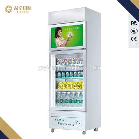 refrigerator freezer display 580l sliding door commercial refrigerator with glass