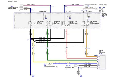 ford f250 wiring diagram trailer lights efcaviation