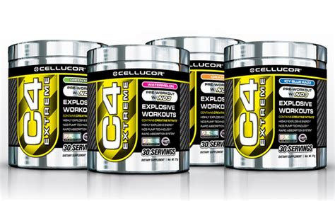 Suplemen C4 cellucor c4 pre workout groupon goods