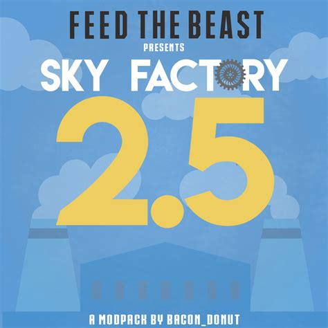 factory sky view overview ftb presents skyfactory 2 5 modpacks