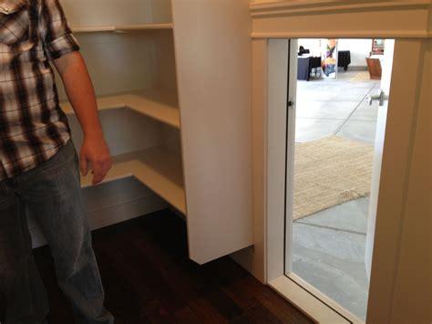 garage  pantry access door pantry door kitchen pantry