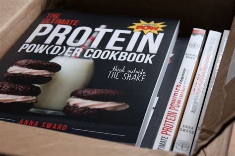 the ultimate protein powder cookbook think outside the shake new format and design books the ultimate protein powder cookbook