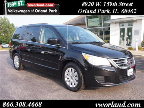 volkswagen routan 2012 for sale 2012 volkswagen routan for sale in orland park il