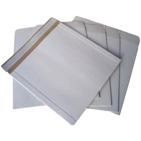 12 Inch Vinyl Mailers by 50 X 12 Quot Defenda All Board White Vinyl Record Mailer Envelopes