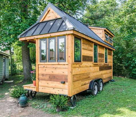 new tiny houses cedar mountain tiny house affordable option from new frontier tiny house blog