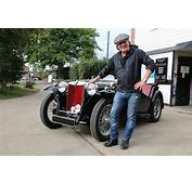 AC/DC Lead Singer Brian Johnson Visits MG HQ In New Cars