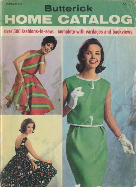 sewing pattern catalogs butterick catalog summer 1961 my vintage butterick