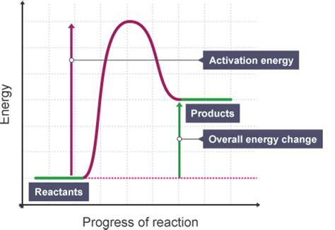 energy diagram for endothermic reaction igcse chemistry 4 14 represent exothermic and endothermic