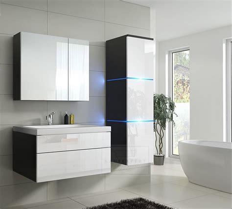 badezimmer keramik kaufexpert badm 246 bel set 1 new wei 223 hochglanz schwarz