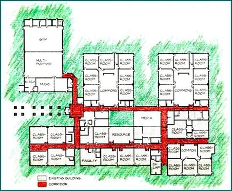 layout plan of school building in india elementary school building design plans yacolt primary