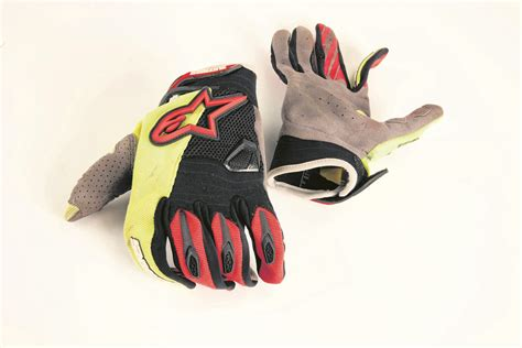 alpinestars motocross gloves product review alpinestars techstar motocross gloves mcn