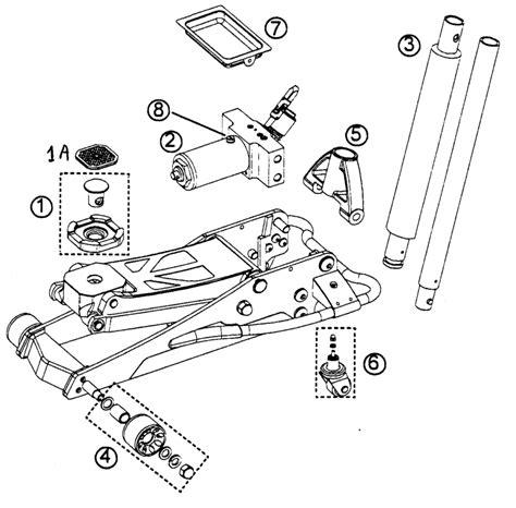 ton diagram allied ton floor parts breakdown high output fxac