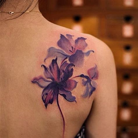 watercolor flowers tattoo 30 best tattoos ideas 2017 for
