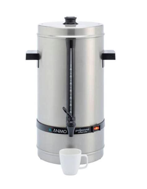 Coffee Maker Daalderop animo percolator daalderop professional 110p alaerts shop
