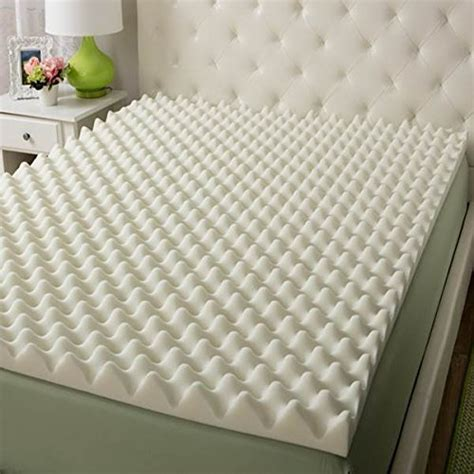 egg crates for bed vaunn medical egg crate convoluted foam mattress pad 3