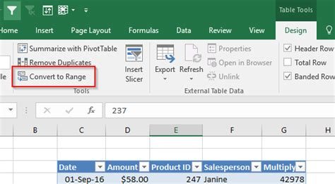 9 1 benefits of using an excel table excel efficiency