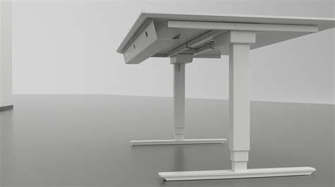 bureau ajustable un bureau motoris 233 ajustable ergonomique bureau assis debout