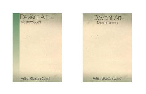 sketch card template da sketch card template by komickarl on deviantart