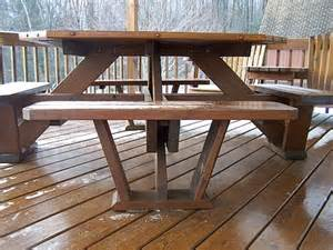table plans small: hexagon picnic table plan group picture image by tag