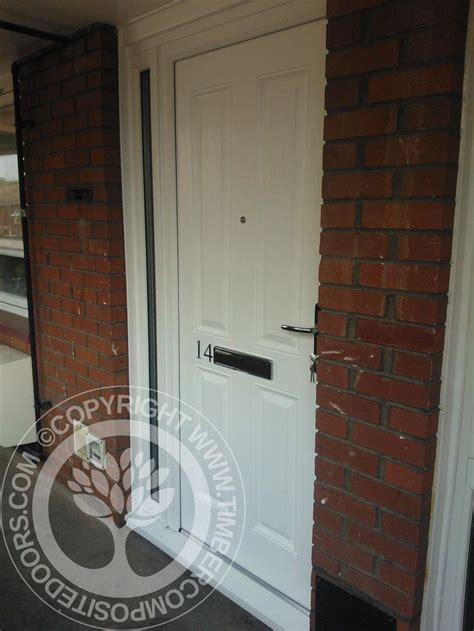 Front Door Fitted 17 Best Images About White Front Doors On