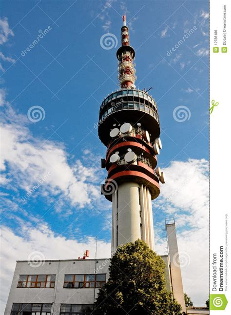 misina tv tower  pecs hungary stock photo image