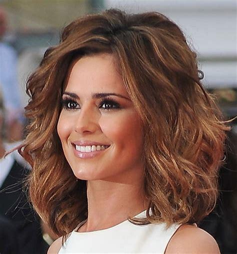 medium hairstyles for thick wavy medium length hairstyles thick wavy hair