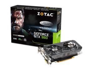Diskon Zotac Geforce Gtx 960 2gb Ddr5 geforce 174 gtx 960 2gb zotac