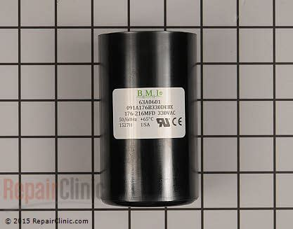 lennox start capacitor lennox air conditioner start capacitor 63a06 repairclinic