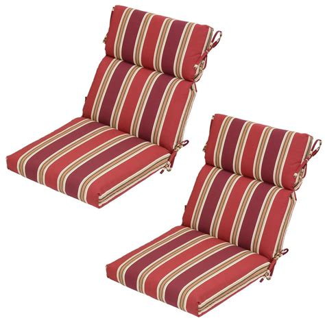 Striped Dining Chair Cushions Striped Dining Chair Cushions Home Decorators Collection Sunbrella Espresso Stripe Outdoor