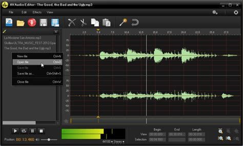 audio format editor online av audio editor is a powerful mid level sound editing