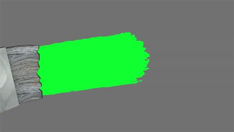 green screen paint brush animation stock footage 3744227