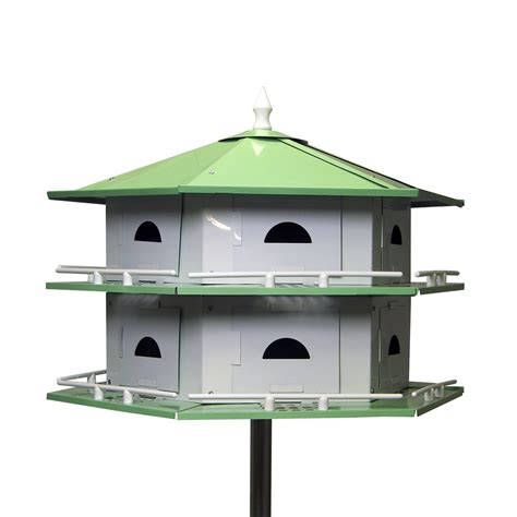 heath outdoor heathah12sr deluxe purple martin bird house
