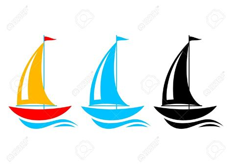 artwork clipart sailing boat clipart vector pencil and in color