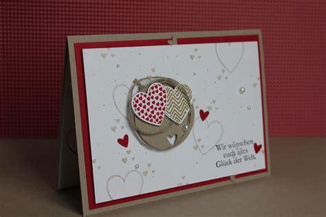 Hochzeitseinladung 3 Teilig by Hochzeitskarte Stempel Doch Mal Stempeln Mit Stin Up