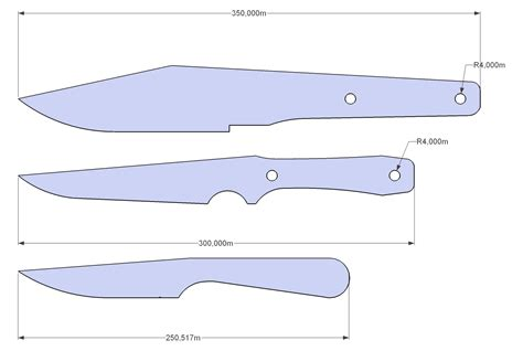 Throwing Knife Template I Ve Designed Myself A Few Throwing Knives