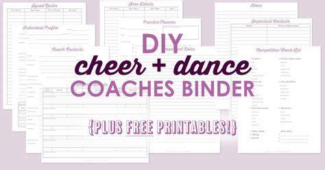 36 Best Cheer Printables Images On Pinterest Cheer Coaches Cheer Stuff And Attendance Sheet Cheerleading Attendance Sheet Template