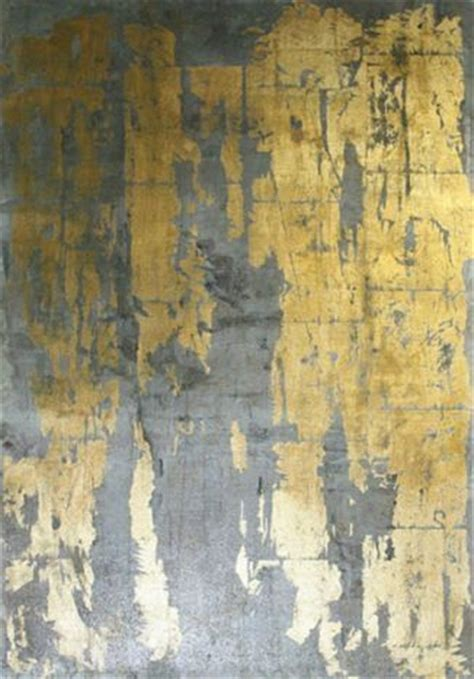 grey and gold metallic wallpaper gold leaf and gray interior on pinterest