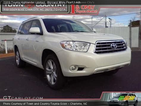 2009 Toyota Highlander Limited Blizzard White Pearl 2009 Toyota Highlander Limited