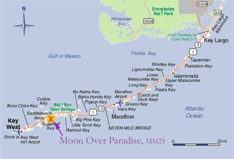florida keys map of the keys florida holidaymapq com
