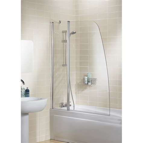 cheap shower screens for baths sculpted panel bath screen by lakes bathroom bath screens perth