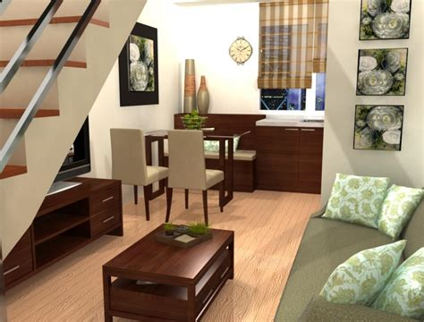 interior design for small spaces living room and kitchen living room design for small spaces philippines 3722