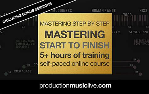 website tutorial from start to finish production music live mastering from start to finish tutorial