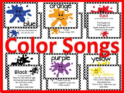 colour song color songs and bulletin board kit other files