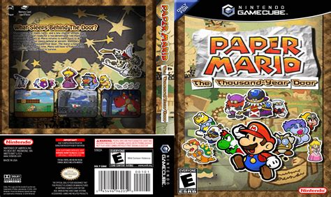 Paper Mario And The Thousand Year Door by World Capas Paper Mario The Thousand Year Door