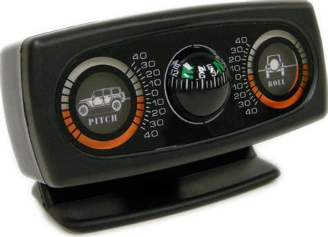 Jeep Inclinometer Rage Products 791006 Rage Products Inclinometer