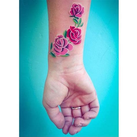 pink roses tattoo rose forearm tattoo on tattoochief com