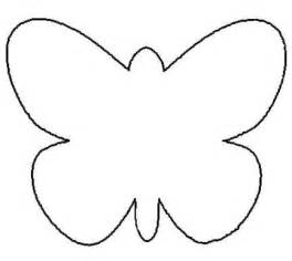 Butterfly Outline Printable by Butterfly Outline Template Clipart Best