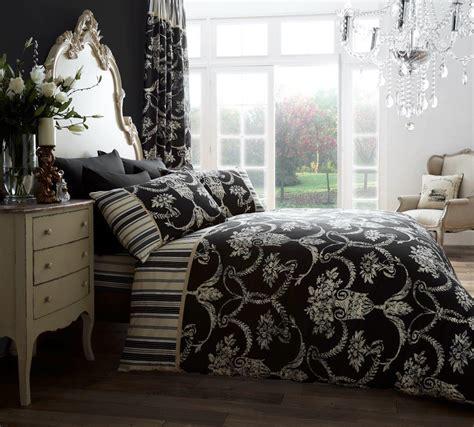 curtains richmond richmond printed curtain set black