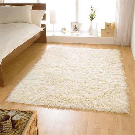 white bedroom rug shag rugs thick pile tradition